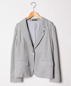 【大きいサイズ】グログランジャージージャケット
