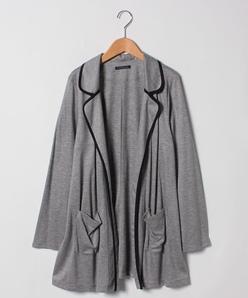 【大きいサイズ/洗える】HARISENNEスムースジャケット
