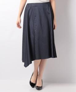 【セットアップ対応】キュプラツィル先染ストライプスカート
