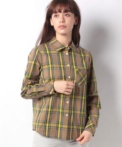 【洗える】ブリティッシュストレッチドビーチェックシャツ