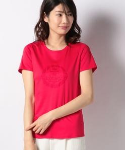 スイスコットンエンブロイダリーTシャツ