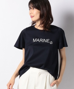 スイスコットンプリントTシャツ