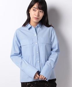 【洗える】ブロードシャツ