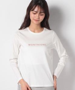 【洗える】ロゴ刺繍Tシャツ