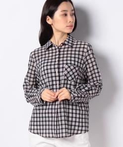 【洗える】オーバーチェックシャツ