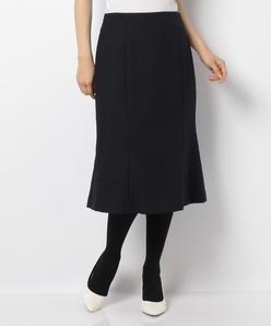 【洗える】シャークツイード マーメードラインスカート