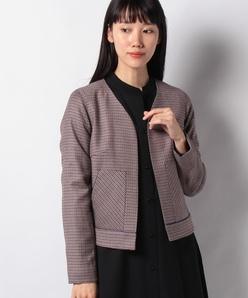 【セットアップ対応】ELANツイードショートジャケット