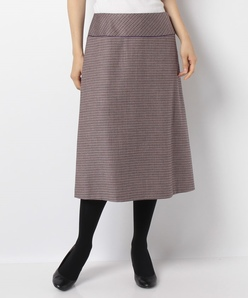 【セットアップ対応】ELANツイード トラペーズスカート