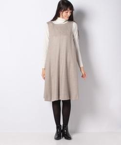 【セットアップ対応】アナスタシアツイード ジャンパースカート