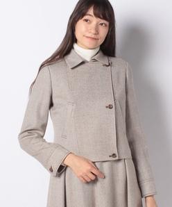 【セットアップ対応】アナスタシアツイード ショートジャケット