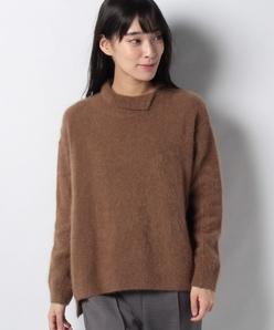 エアリーシャギー タートルネックセーター