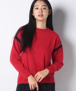 【洗える】カシミヤ クルーネックセーター