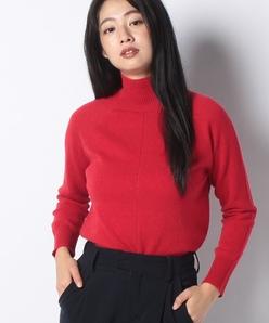 【洗える】カシミヤ ハイネックセーター