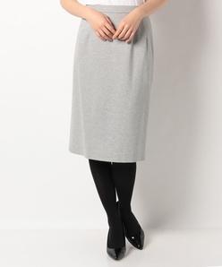 【洗える】【セットアップ対応】グログランジャージー タイトスカート