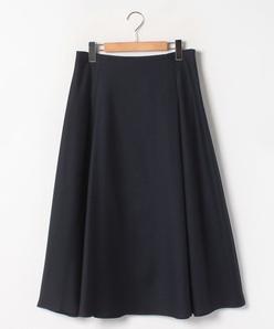 【大きいサイズ】【洗える】オクシージュエルスラブ フレアスカート