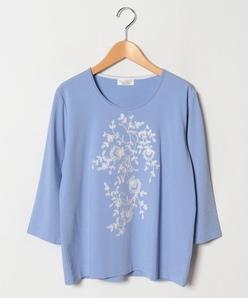 【大きいサイズ】ARINA 花柄刺繍プルオーバー