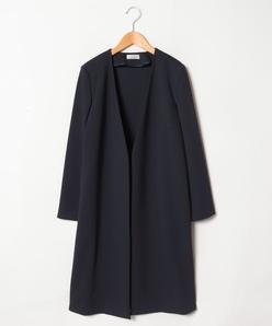 【大きいサイズ】シェルタリングドライポンチ/ロングジャケット