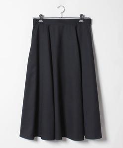 【大きいサイズ】ポリエステルツイルスカート