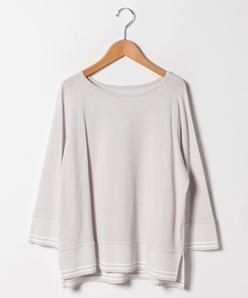 【大きいサイズ】ジャカード編み配色プルオーバー