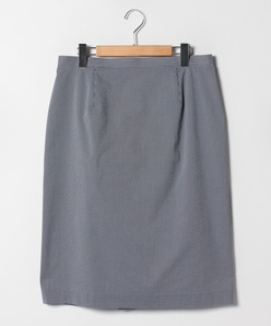 【大きいサイズ/セットアップ対応】先染サッカースカート