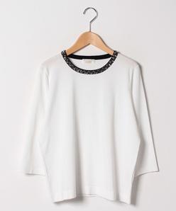 【大きいサイズ/アンサンブル対応】ARINA ビーズ刺繍プルオーバー