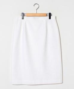 【大きいサイズ】【セットアップ】 シースルーボーダージャージー タイトスカート