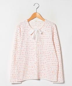 【大きいサイズ】ファンシーニットジャケット