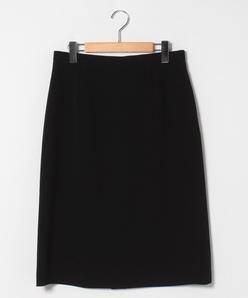 【大きいサイズ】Aラインスカート/トリアセテート混2WAYストレッチ二重織