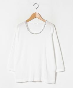 【大きいサイズ】ARINA ビーズ刺繍プルオーバー