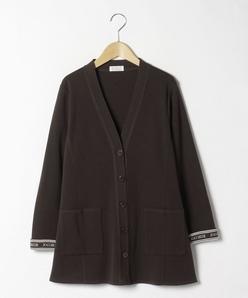【大きいサイズ】NADIA ミラノリブ ニットジャケット