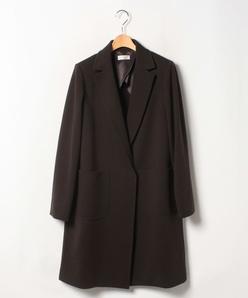 【大きいサイズ】ストレッチポンチ ロングジャケット