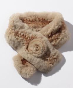 レッキス手編みマフラー