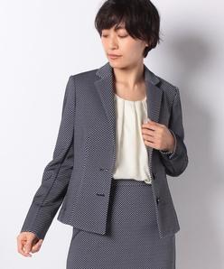 【セットアップ対応】ブリスタージャカードジャージー/テーラードジャケット
