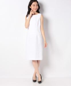 【セットアップ対応】 ツィード ドレス