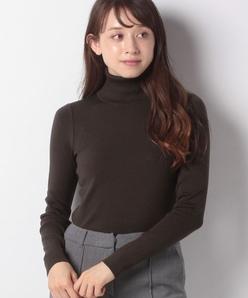NADIA リブ編み ニットプルオーバー
