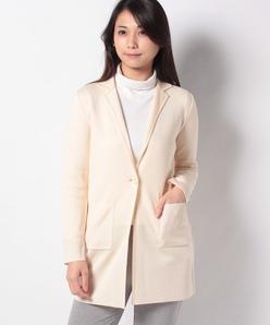 NADIA リバー編み ニットジャケット