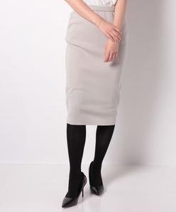 NIADA ミラノリブ編みニットスカート