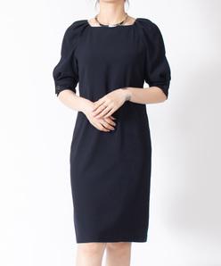 ダブルアムンゼンストレッチドレス(ペチコート付き)