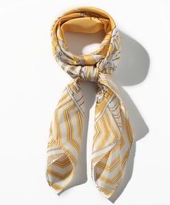 オリジナルパネルプリントスカーフ