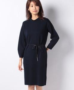 ソフトウールニットドレス