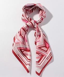 パネルプリントスカーフ