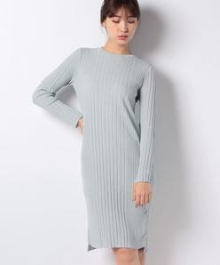 ライトストレッチウールニットドレス