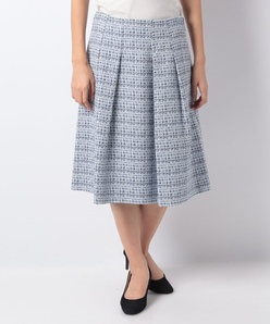 【セットアップ対応商品】カスリツィードフレアスカート