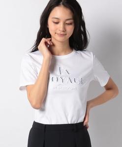 スーピマスムースロゴTシャツ