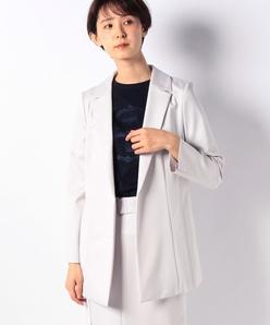【セットアップ対応商品】レーヨンナイロンポンチジャケット