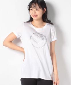 【接触冷感/洗える】スーピマスムースプリント メモリアルロングTシャツ