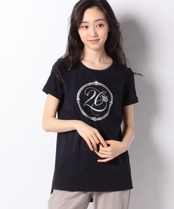 【接触冷感】スーピマスムースプリント メモリアルロングTシャツ
