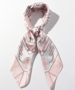 ステッチパネルプリント スカーフ