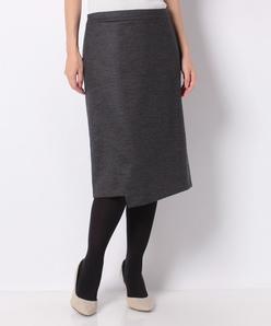 ストレッチポンチ ラップ風スカート