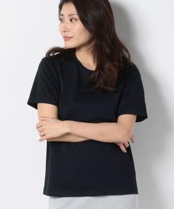 【洗える】【アンサンブル対応】ストレッチポンチTシャツ